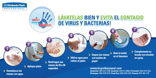 5 de mayo es el d a mundial del lavado de manos revista lima for Lavado de manos en la cocina