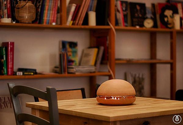 Egloo aprovecha la energ a de una vela para calentar una - Calentar una habitacion ...