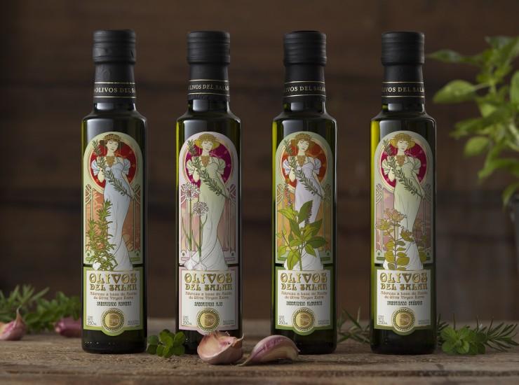 Aceites saborizados Essen - Olivos del Salar - x 6 botellas de 500 ML. Desde $1340,00