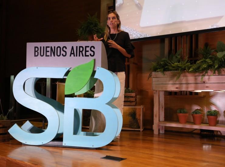 Mariana Reñe, Gerente de Sustentabilidad y Comunicación Interna de Unilever